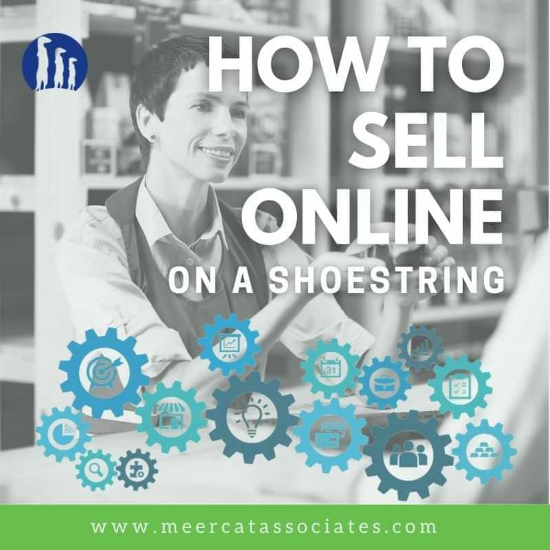 How to sell online on a showestring